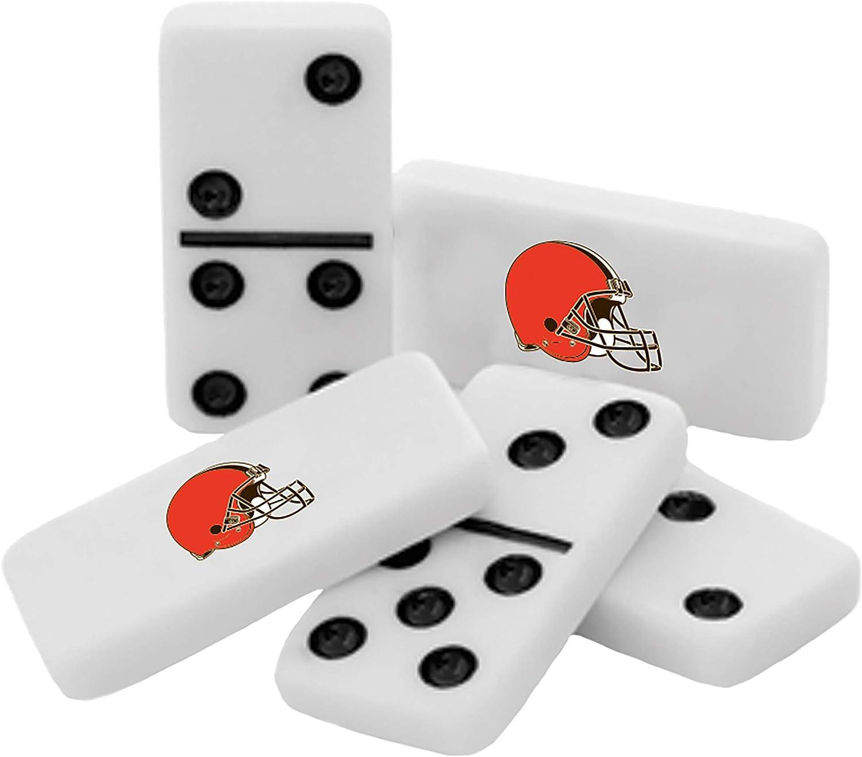MasterPieces NFL Unisex NFL Double-Six Dominoes