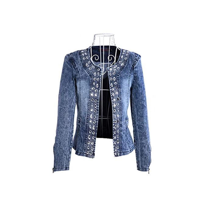 Baota Jeans Jackets Women Chaqueta Mujer Autumn Denim Jacket ...