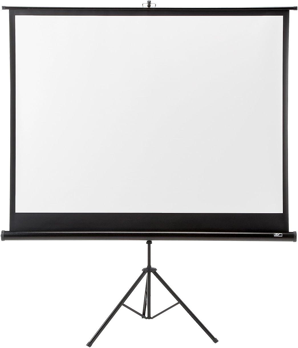 サンワダイレクト プロジェクタースクリーン 84インチ 三脚式 自立式 100-PRS004