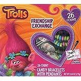 Trolls Friendship Exchange Valentines, 26 Count