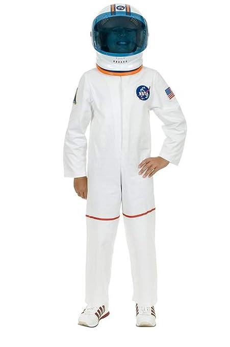 Color Blanco Astronauta Traje de niños para Mujer: Amazon.es ...