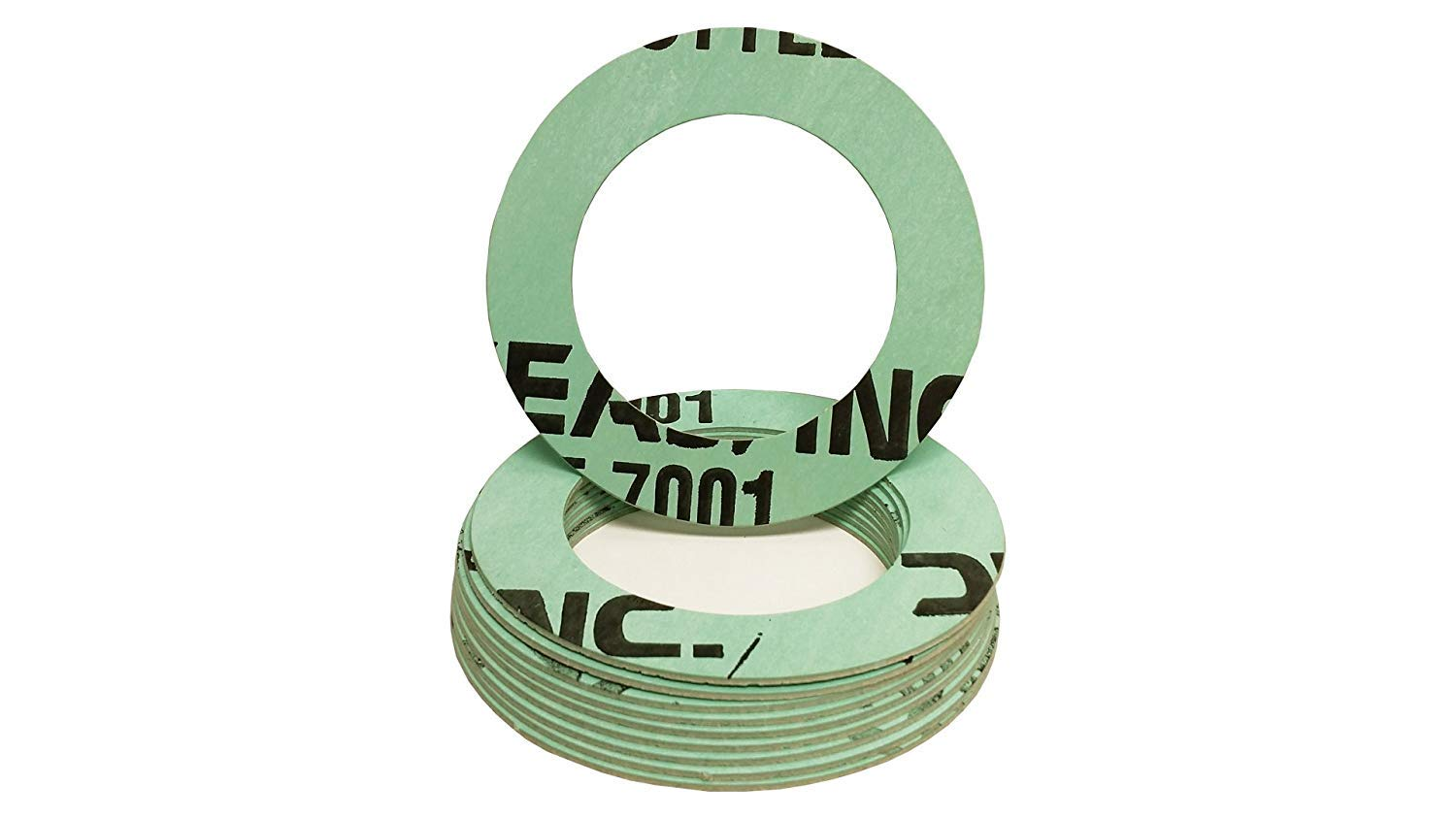 3'' Ring Gasket, 300# Class Flange, NSF-61 Certified, 1/16'' Thick (Qty 10 gaskets) by Sterling Seal & Supply, Inc. (STCC)
