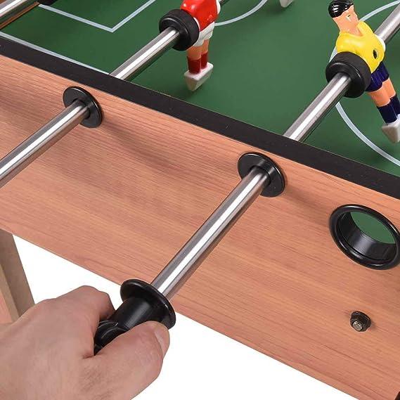 Sxfcool Futbolín, De 27 Pulgadas Grande Patas De Fútbol De Fútbol Juego De Mesa con Patas Family Game Tamaño 69 X 62 Los X 37Cm: Amazon.es: Deportes y aire libre