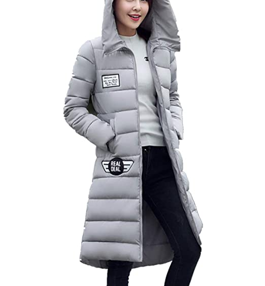 3f495cf3f Adelina Quilted Coat Ladies Long Thicken Warm Mode Jacket Down ...