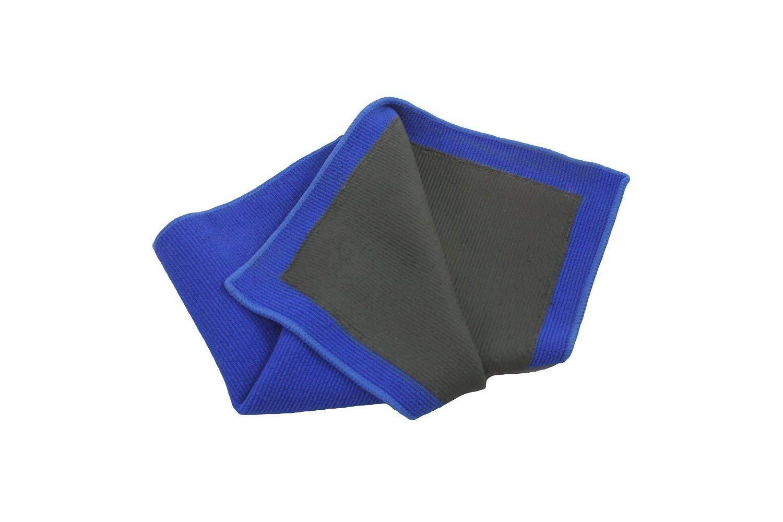 DuckMall Clay Towel, Fine Grade Microfiber Clay Bar Towel Clay Bar Cloth Towel Mitt Automotive Detailing Towel Wash Mitt Clay Bar Alternative for Car Detailing, Blue,1 Pack