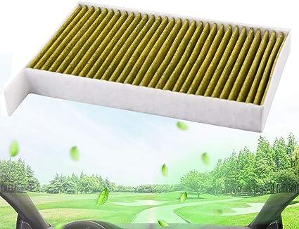 Filtro de aire interior para coche, polen, purificador de filtro de aire, repuesto Fresh Breeze para modelo 3 ...