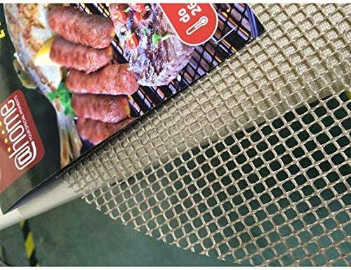 Taota Lot de 3 tapis de barbecue