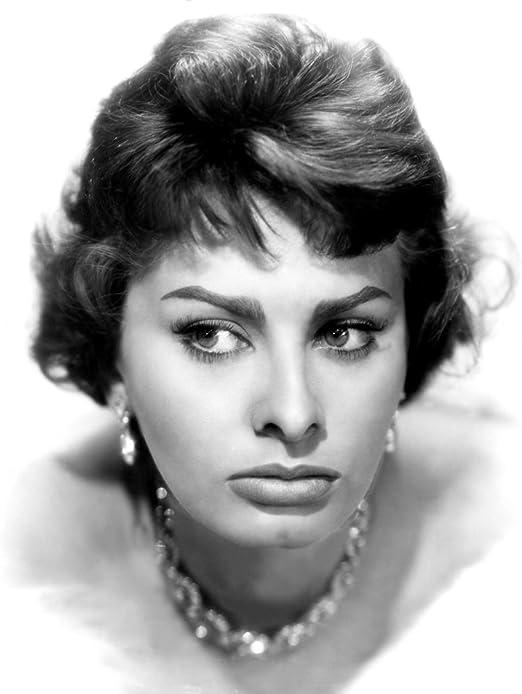 Sophia Loren Poster Picture Photo Glossy Print A4-19