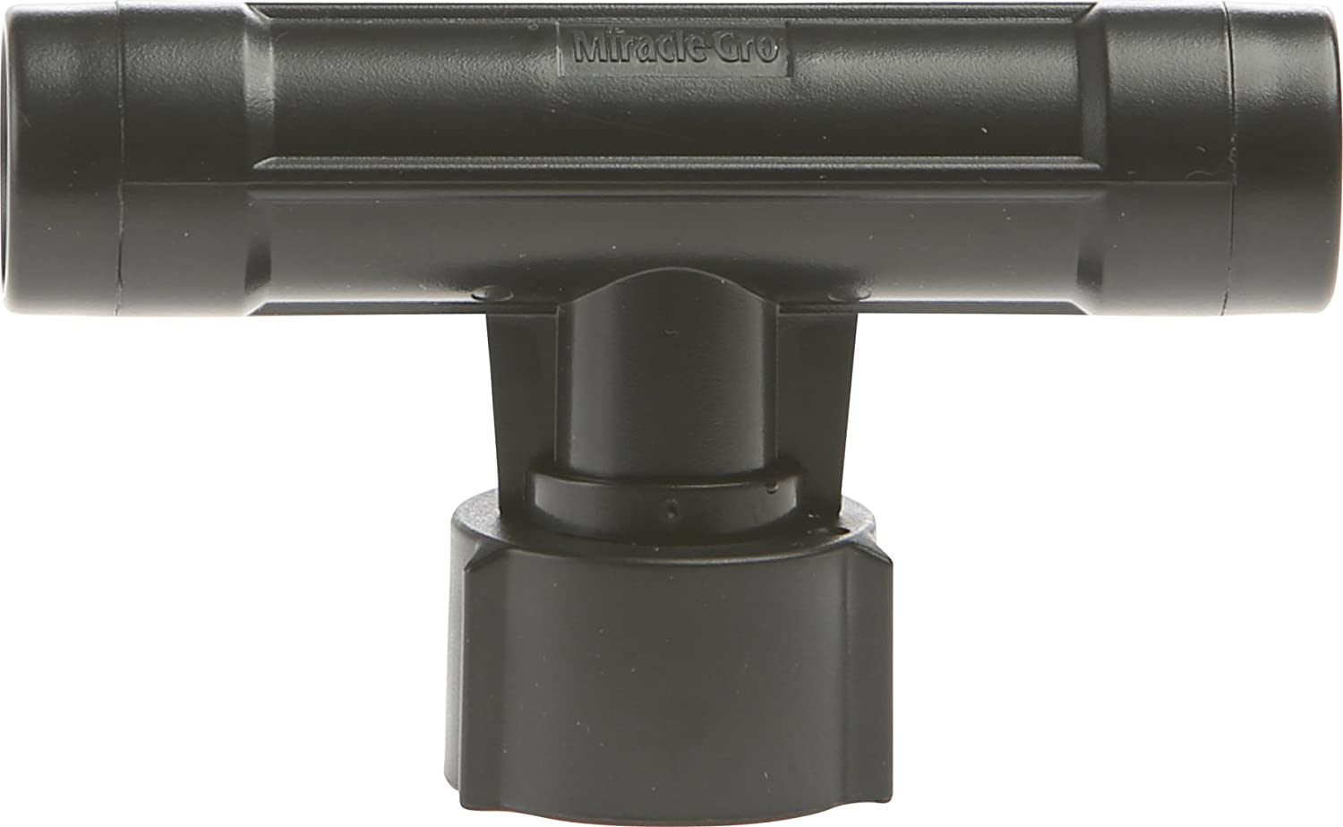 Swan Products MGEZFE3801 Miracle-Gro Soaker System Push on Fitting Replacement Piece: Feeder Connector, Black