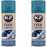 K2 Fox anti-appannamento Spray, auto finestra, ottima visibilità in inverno attraverso la Disco, Spray 200 ml