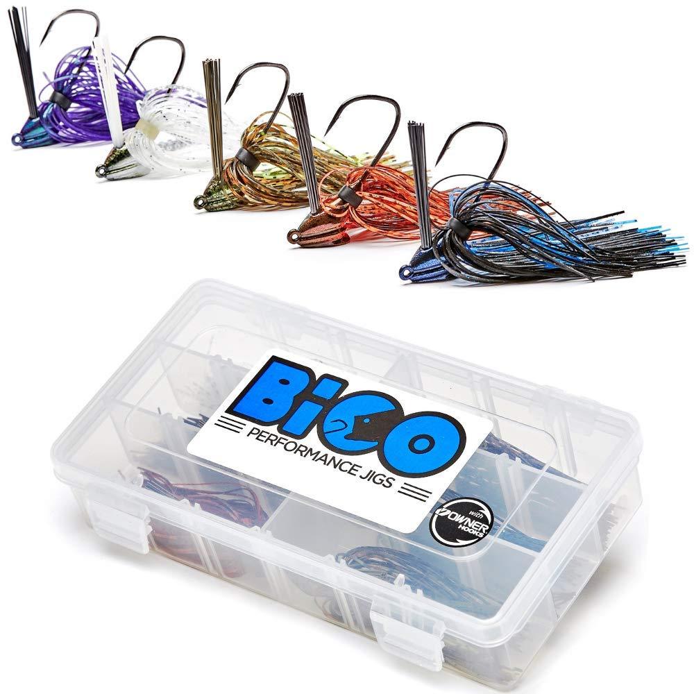 BiCO Jigs Bass Jig Set (6 Jigs)