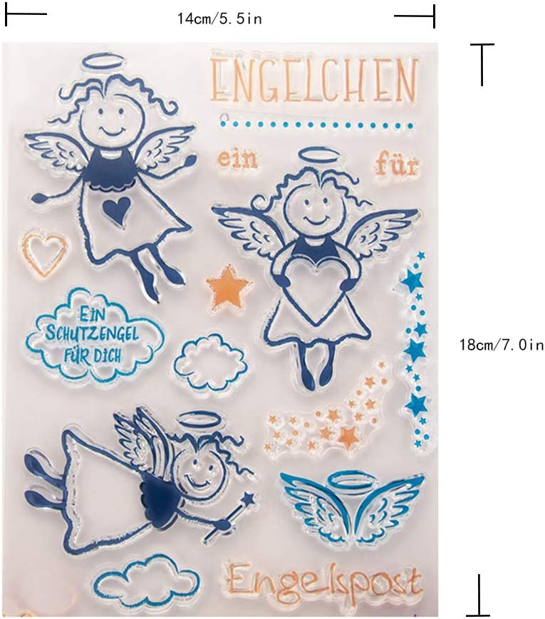 Clear Stamps for Card Making Paper Crafts DIY Albums DIY Scrapbooking