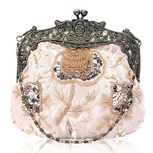 Champagne femme Pochette Bag pour YYW Evening w1XIRqxIv