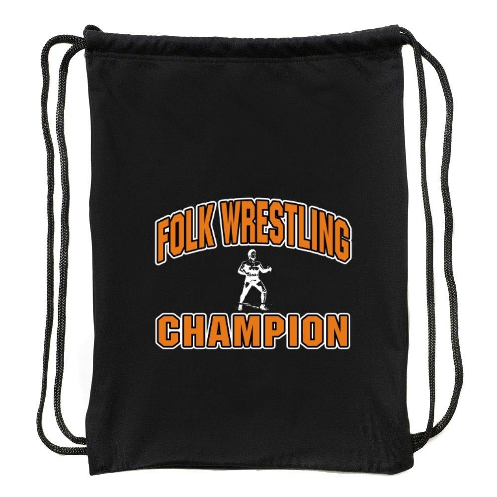 Eddany Folk Wrestling champion Sport Bag by Eddany