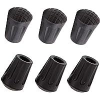 4pcs 3cm Alpenstocks Rubber Mud Basket for Walking Sticks Hiking Poles Caps