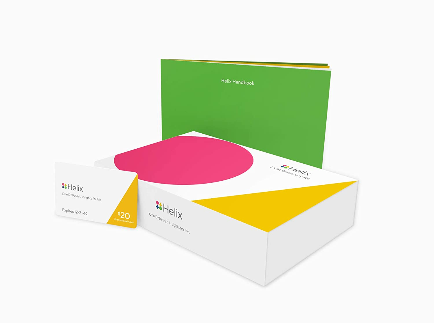 Helix DNA Discovery Test Kit: Ancestry + Wellness Basics Includes at-Home  Saliva Collection