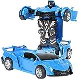 DEtrade Inertia Double Side Stunt Graffiti Auto Off Road Modellauto Fahrzeug Kinder Spielzeug Geschenk Auto Modell