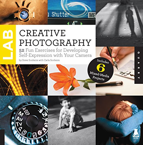 Go ahead, have fun with your photography. Creative Photography Lab is a collection of fun and silly photography exercises designed to teach you something about your camera (and yourself!). Whether you're rockin' a digital SLR, a point and sho...