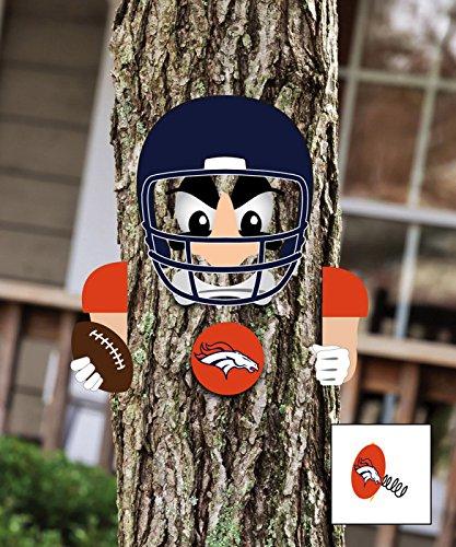 NFL Player Tree Face Statue NFL Team: Denver Broncos