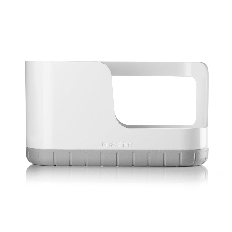 Guzzini My Kitchen Sink Tidy Caddy, 5-1/3-Inches, Matte Grey 29040033