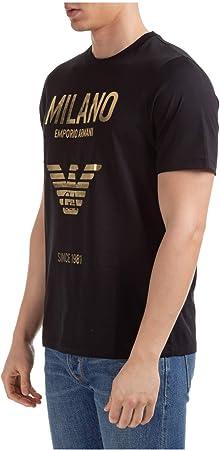 Emporio Armani Hombre Camiseta Nero