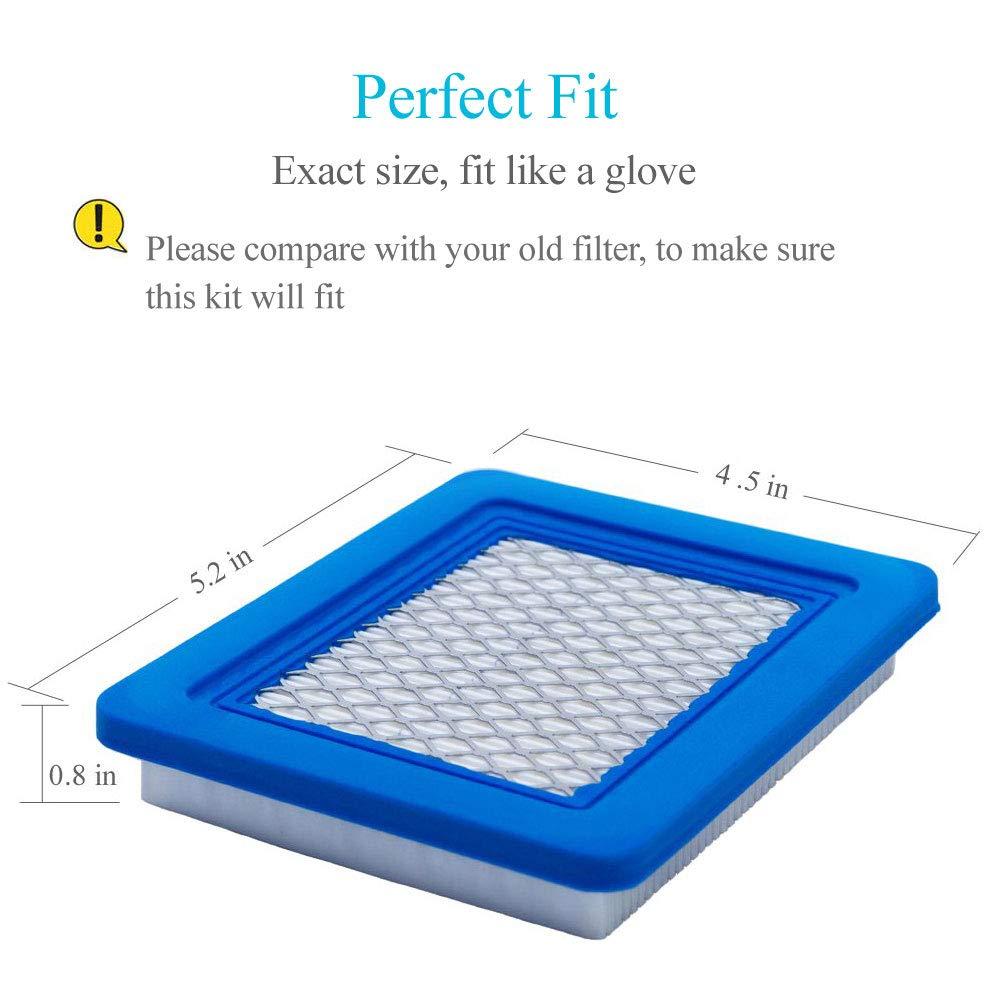 Amazon.com: HOODELL 491588s - Filtro de aire (5 unidades ...