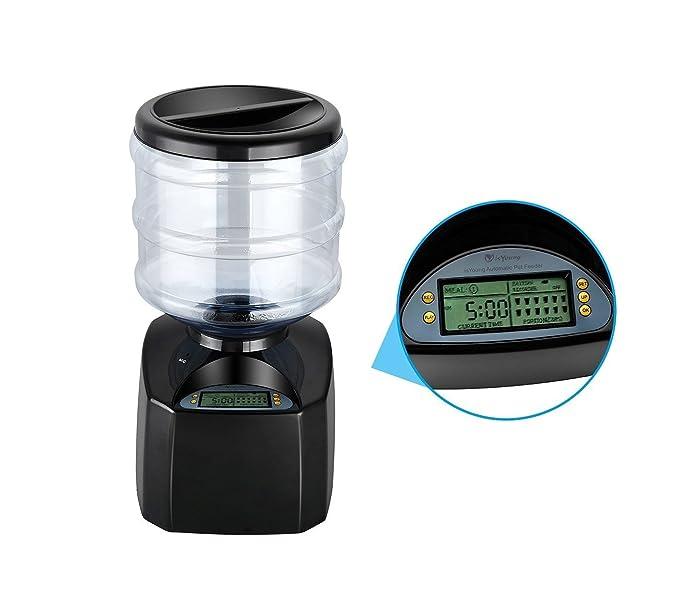 4652 Dispensador automático PROLABZOO RECUERDO DE VOZ comida perro y gato 5.5LT: Amazon.es: Productos para mascotas