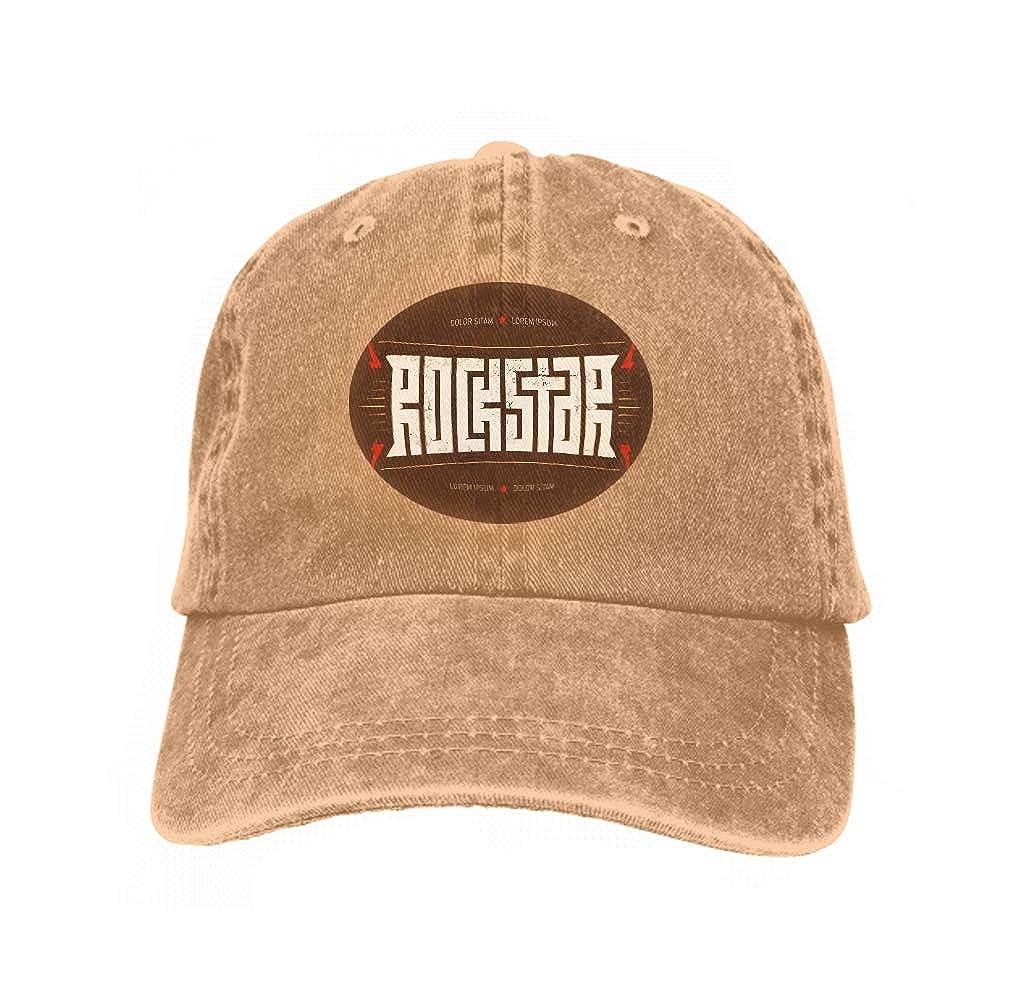 Unisex Jeans Baseball Cap Classic Cotton Dad Hat Adjustable Plain ...