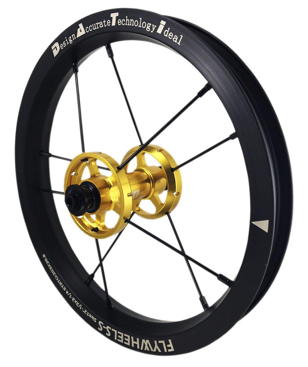 DATI 12インチ S6A-W Alloy バランスバイク Kids Balance Bike Bicycle Super light 子供自転車ホイール B0794PN4JK 95x8MM|ゴールド ゴールド 95x8MM