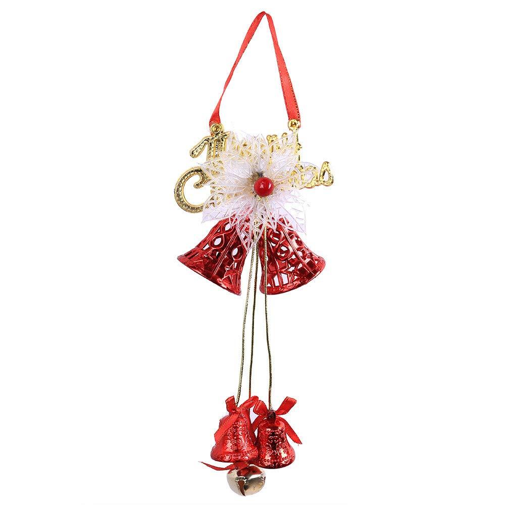 MomeChristmas Bell Pendants (Red)