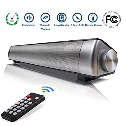 eb9676d86cf TV Sound Bar Wireless Bluetooth Speaker Soundbar LP-08 Channel 2.0 With  Built-In