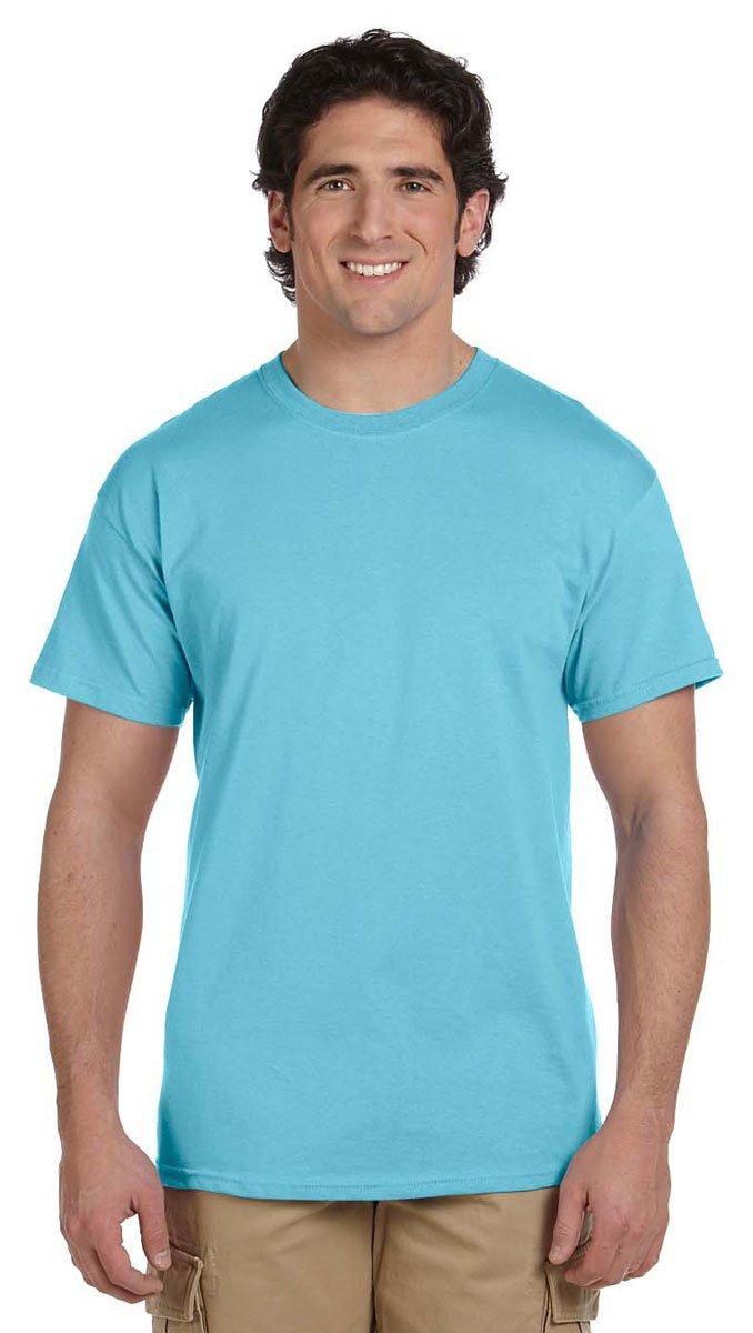 Gildan Men's G200 Ultra Cotton T-Shirt, Sky, XXXX-Large