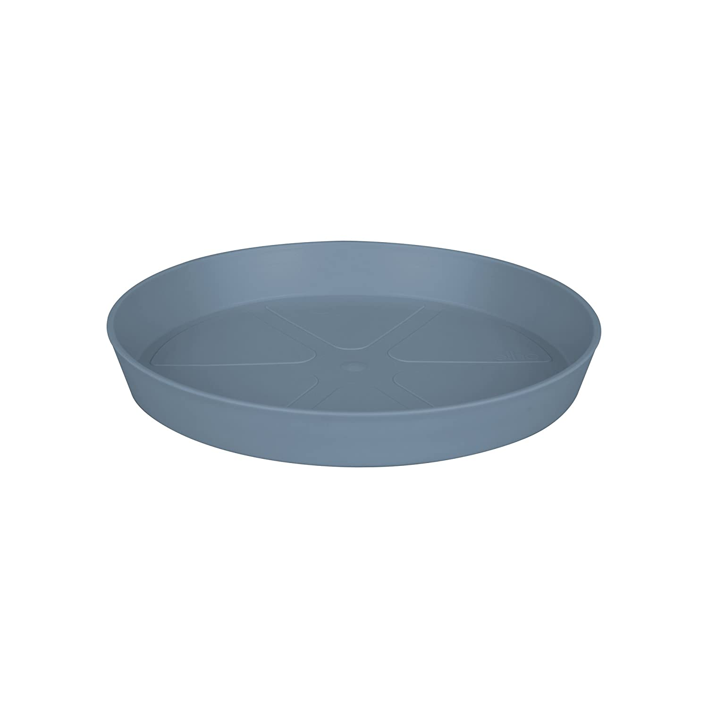 Elho loft urban saucer round 17 saucer - vintage blue 9202432554200