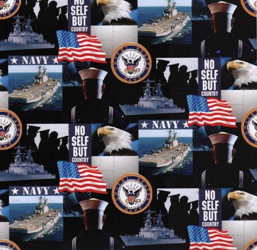 US Navy Cotton Fabric