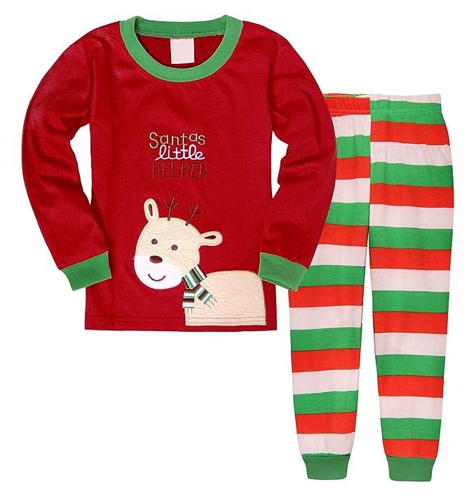 Boys Christmas Pajamas.Amzbarley Baby Boys Christmas Pyjamas Toddlers Xmas Pjs