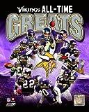 Minnesota Vikings NFL All Time Greats 8x10 Photo