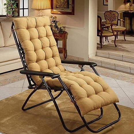 N/A Cojines para tumbona, cojines para silla, solo cojines, cojines para muebles de jardín, patio o patio, cama reclinable gruesa para viajes/vacaciones/interior/exterior (color : 6), 5: Amazon.es: Deportes y aire libre