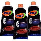 KH-7 | Crema para la Limpieza la Vitrocerámica | 3 Recipientes de 450 ml | Desincrusta y protege la vitrocerámica | No…