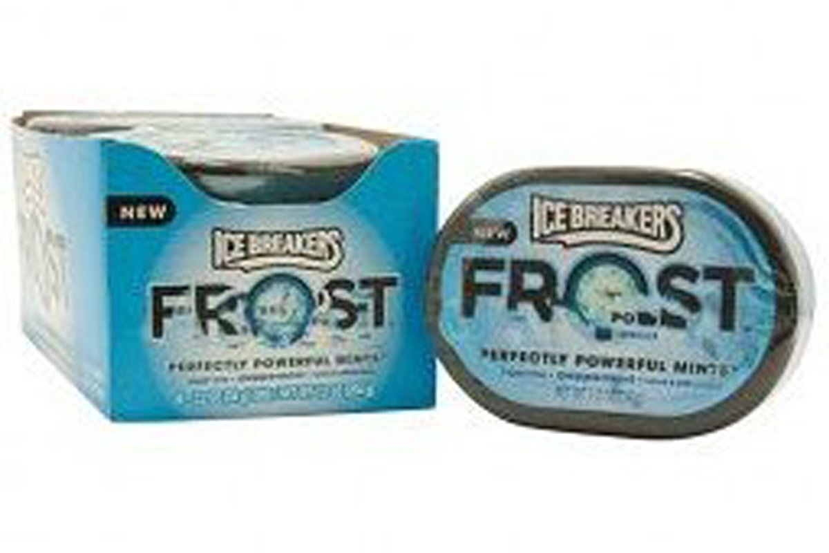 Ice Breaker Frost Mint Pepp#72138 (Pack of 6) by Ice Breakers