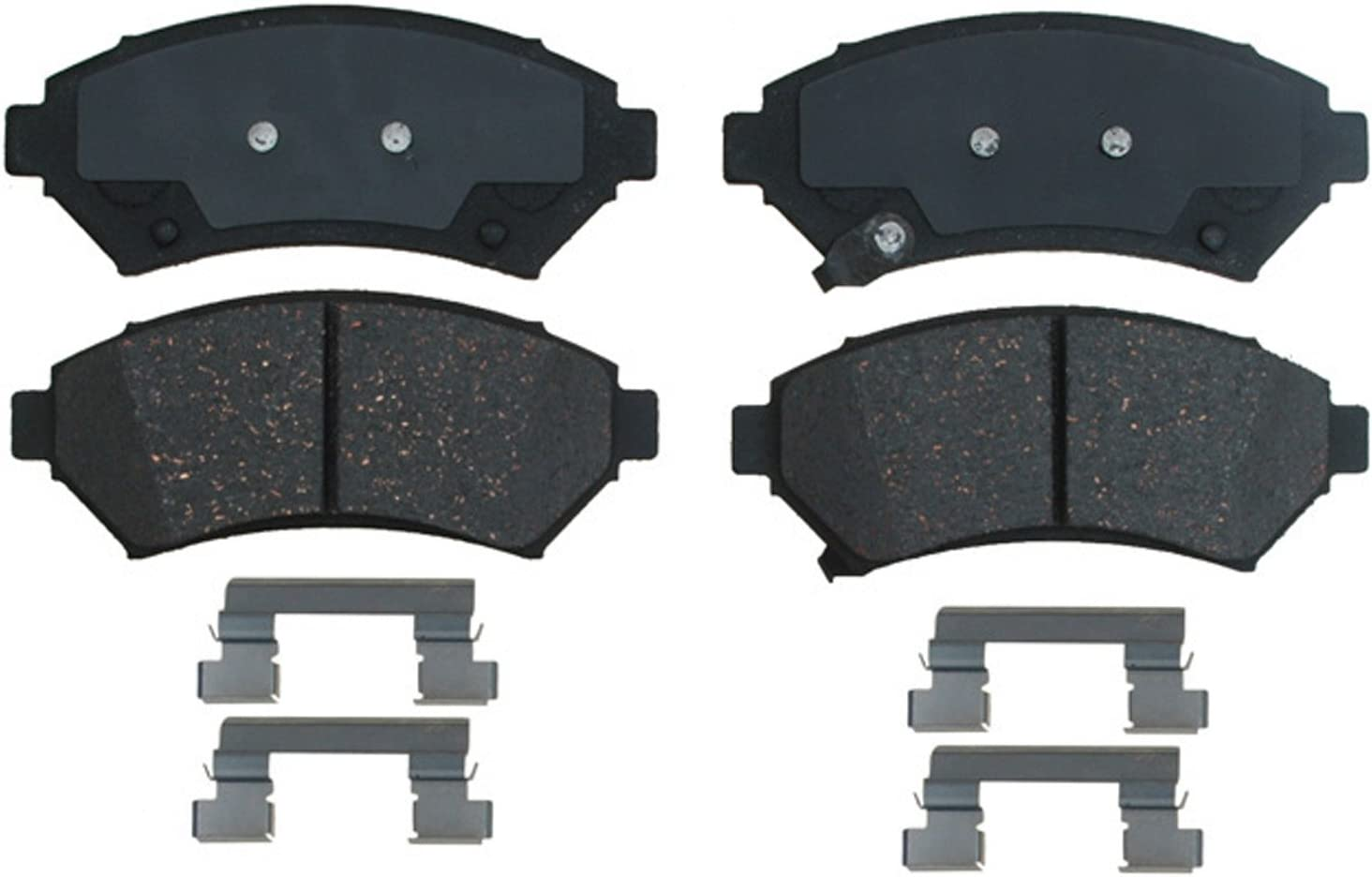 ACDelco 14D699CH Front Ceramic Brake Pads