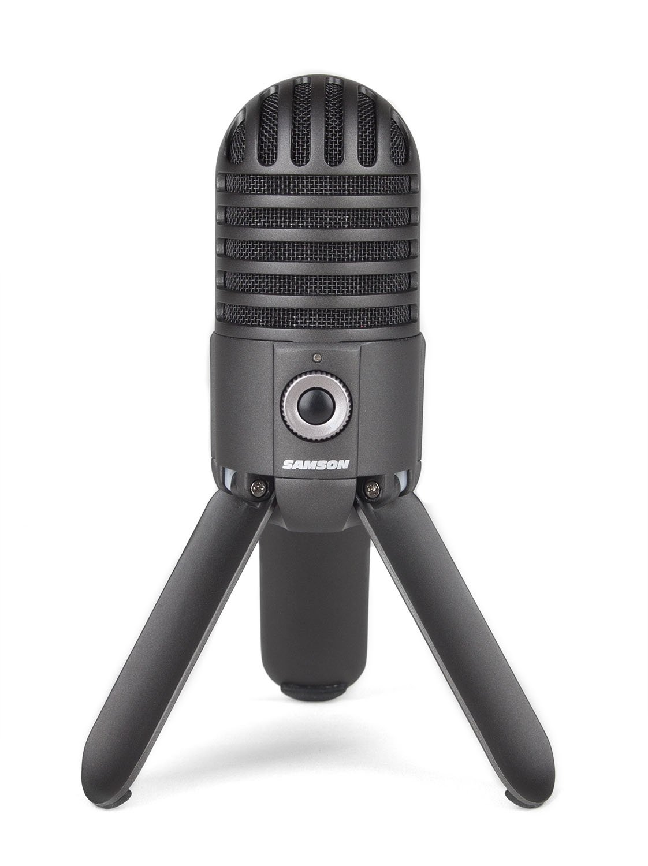 Samson Meteor Mic USB Studio Microphone (Titanium Black) by Samson Technologies