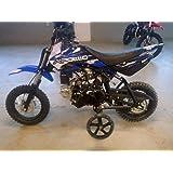 APOLLO New Youth Fully Automatic DB25-70cc Dirt Bike w/Training Wheels