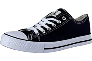 1ae7911cd5311 Shinmax Hi-Tops Canvas Shoes Unisex Canvas Shoes- Season Lace Ups Shoes  Casual Trainers