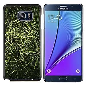 Stuss Case / Funda Carcasa protectora - Hierba Naturaleza Vignette Foto - Samsung Galaxy Note 5