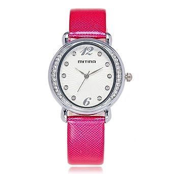 Reloj de Mujer de Gama Alta Reloj de Diamantes de Moda Coreana ...