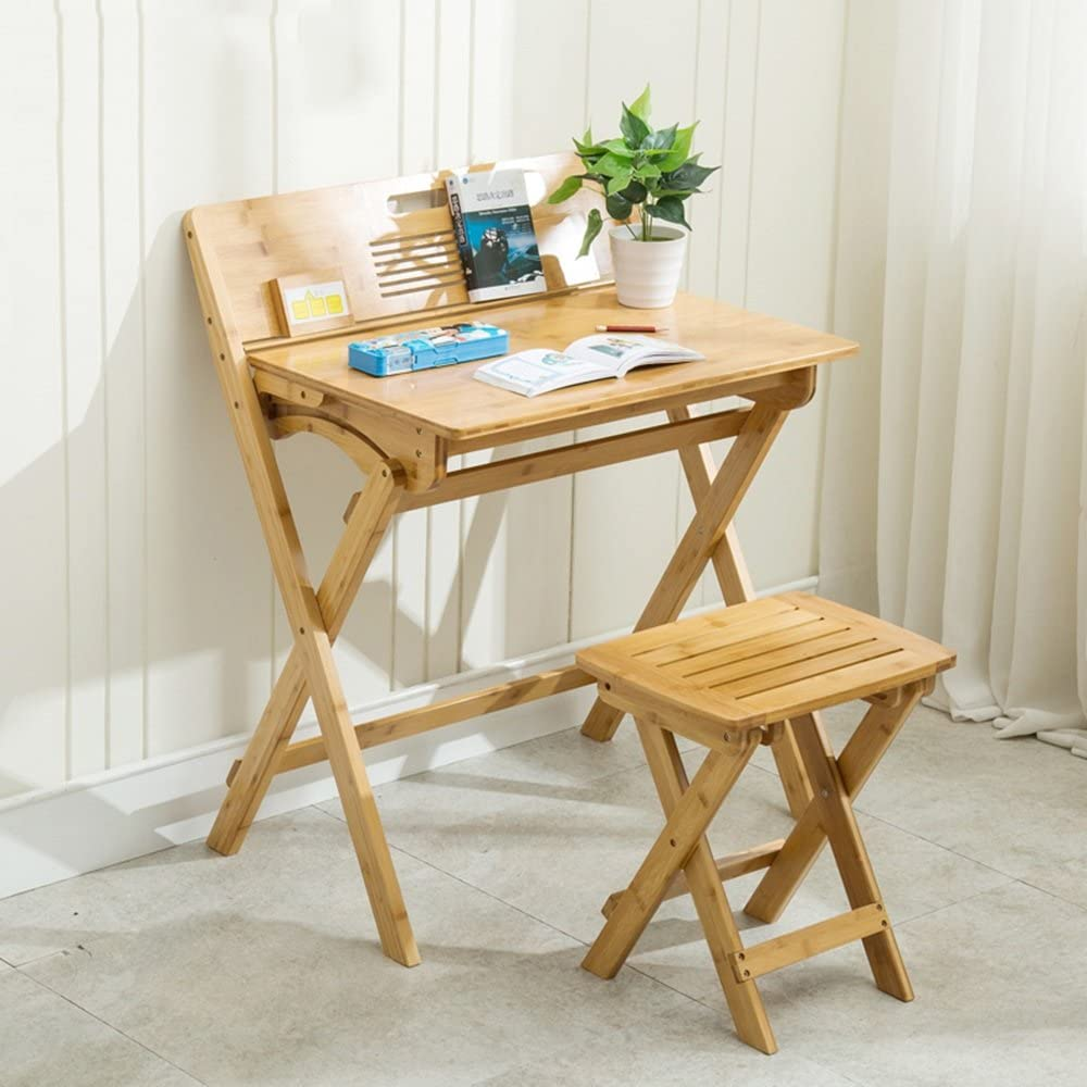 YUN-X Childrens Safety Smooth Sanding Wood Finish High Score Juego de Mesa y Silla para niños (Color : Desk+Chair): Amazon.es: Hogar