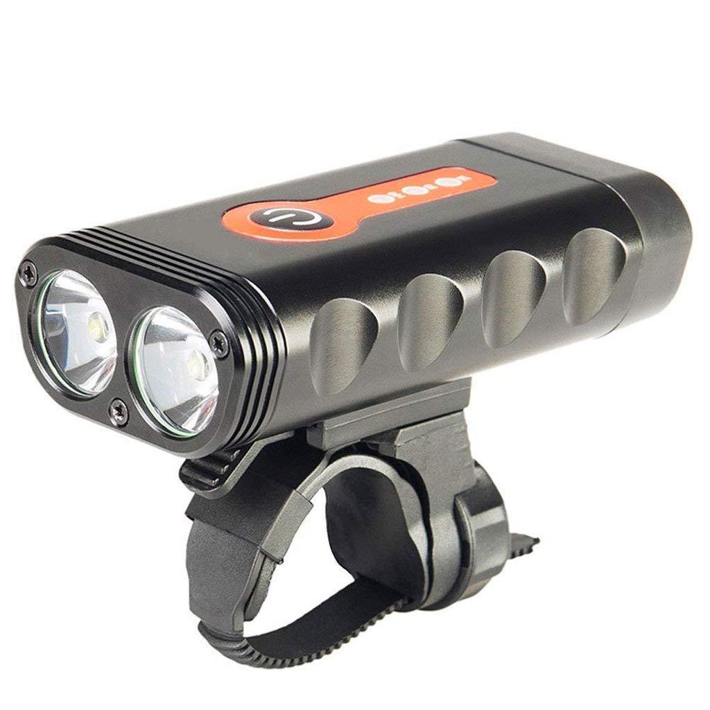 Zmsdt LED Bicycle Light Waterproof Anti-stun Glare USB Charging Headlights Riding Night Light Longevity Searchlight ZMSDT-HL