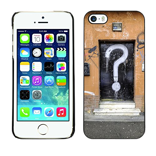 Premio Sottile Slim Cassa Custodia Case Cover Shell // F00004311 question porte // Apple iPhone 5 5S 5G