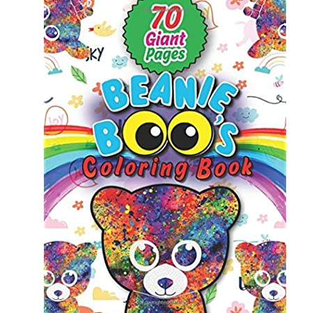 - Beanie Boos Coloring Book: Great Coloring Book For Kids And Fans – GIANT 70  Pages With High Quality Images: Mark, Wayne: 9798648323872: Amazon.com:  Books