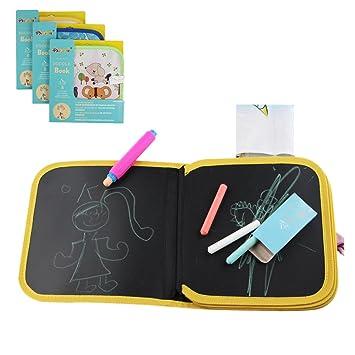 Tabla de dibujo portátil para niños, reutilizable, lavable, para escribir y aprender un juguete innovador, bebé, aprendizaje temprano, graffiti, tabla ...